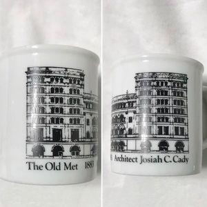 The Old Met 1883 Architect Josiah C. Cady Mug